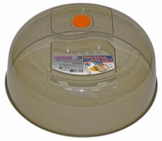 Крышка для СВЧ Violet 1026/01 дымчатый  см