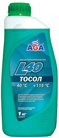 Тосол, готовый к применению AGA-L40 AGA007L