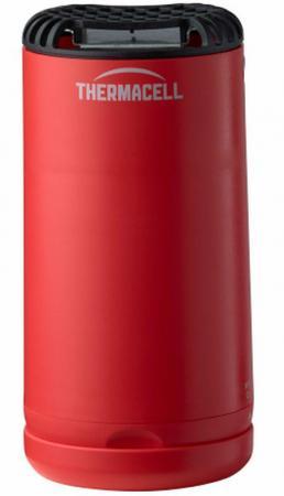 Лампа противомоскитная Thermacell Halo Mini Repeller Red (цвет красный, в комплекте: лампа + 1 газовый картридж + 3 пластины)