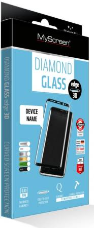 Пленка защитная Lamel 2,5D закаленное стекло MyScreen DIAMOND GLASS edge Black Samsung Galaxy A7 2017
