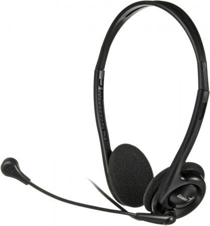 Наушники GENIUS HS-200C черный наушники с микрофоном genius hs 300n