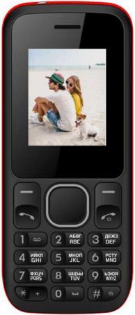 Мобильный телефон IRBIS SF02 1.77 (128x160),2xSimCard, Bluetooth, microUSB, MicroSD, Black/Red сотовый телефон irbis sp517 black