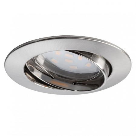 Встраиваемый светодиодный светильник Paulmann Premium Line Coin 92818 встраиваемый светодиодный светильник paulmann premium line coin 92814