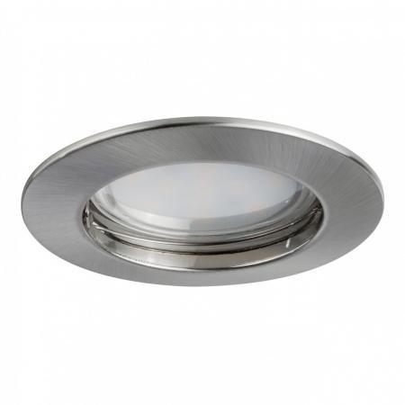 Встраиваемый светодиодный светильник Paulmann Premium Line Coin 92826 встраиваемый светодиодный светильник paulmann premium line coin 92814