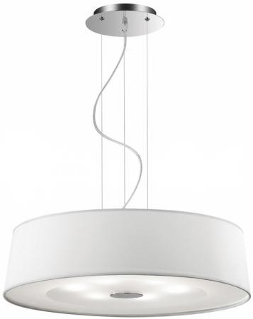 Подвесной светильник Ideal Lux Hilton SP6 Round Bianco люстра ideal lux hilton hilton sp6 round bianco