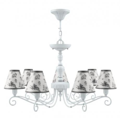 Подвесная люстра Lamp4you Provence E4-07-WM-LMP-O-8 настенное бра lamp4you provence e 01 wm lmp o 29
