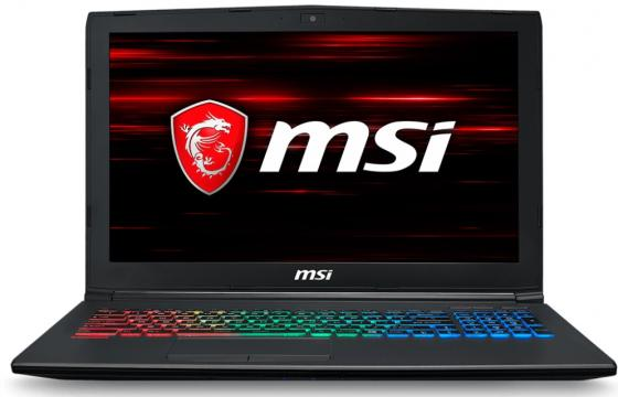 Ноутбук MSI GF62 8RE-044XRU 15.6 1920x1080 Intel Core i7-8750H 1 Tb 8Gb nVidia GeForce GTX 1060 6144 Мб черный DOS 9S7-16JE22-044