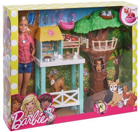 Игровой набор Barbie (Mattel) Спасатель животных