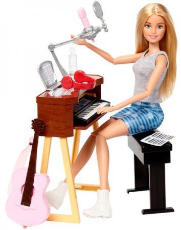 Игровой набор Barbie (Mattel) Музыкант блондинка mattel mattel игровой набор barbie в движении парк аттракционов