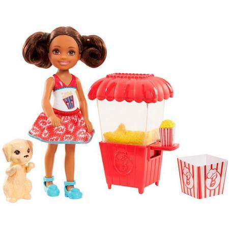 Фото - Игровой набор Barbie (Mattel) Челси и щенок FHP68 mattel игровой набор barbie crayola сделай моду сам платье футболка и юбка