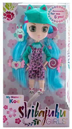 Кукла Shibajuku Girls Кое 33 см HUN6621 кукла shibajuku girls йоко 15 см