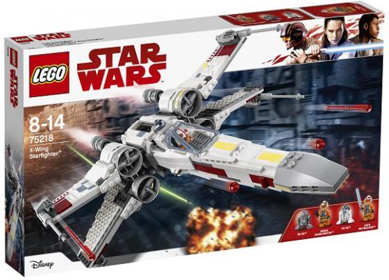 Конструктор LEGO Star Wars: Звёздный истребитель типа Х 731 элемент конструктор lego star wars 75162 микроистребитель типа y