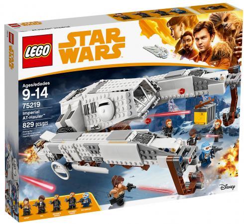 Конструктор LEGO Star Wars: Имперский шагоход-тягач 829 элементов конструктор lego star wars тяжелый разведывательный шагоход первого ордена 75177 l