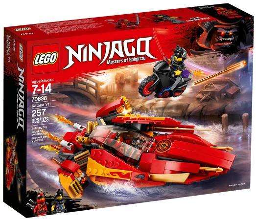 Конструктор LEGO Ninjago: Катана V11 257 элементов конструктор lego ninjago вестник бури 70652