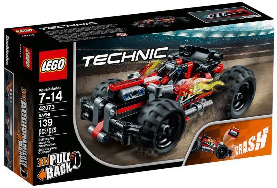 Конструктор LEGO Technic: Красный гоночный автомобиль 139 элементов конструктор bauer автомобиль 282