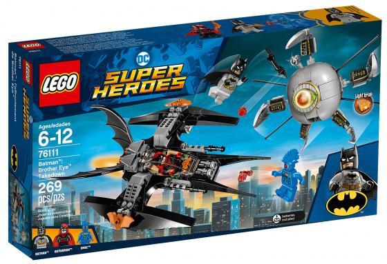 Конструктор LEGO Super Heroes: Бэтмен - ликвидация Глаза брата 269 элементов