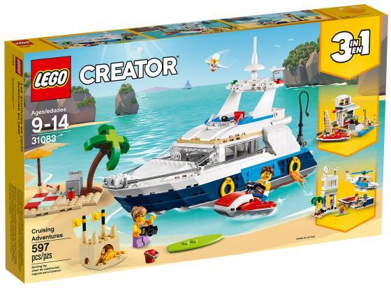 Конструктор LEGO Creator: Морские приключения 597 элементов lego creator морская экспедиция 31045