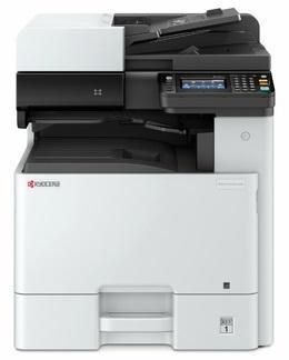 Фото - Многофункциональное устройство KYOCERA Цветной копир-принтер-сканер Kyocera M8124cidn (А3, 24/12 ppm A4/A3 1,5 GB, USB, Network, дуплекс, автоподатчик, пуск. комплект) сканер