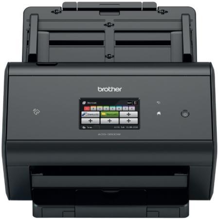 Сканер Brother ADS-3600W настольный, беспроводной, сетевой brother ads 1600w