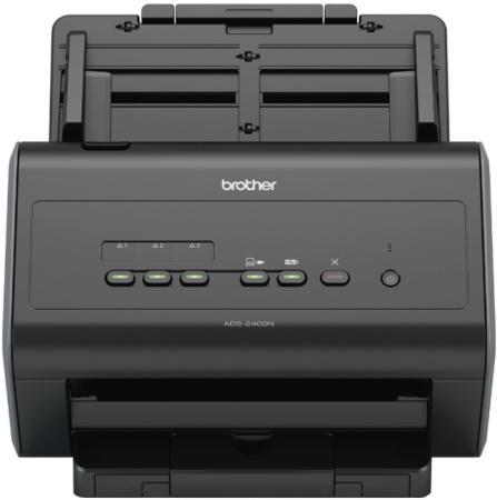 Сканер Brother ADS-2400N настольный, сетевой сканер brother ads 1100w