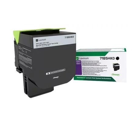 Картридж Lexmark 6000 стр. черный для CS417dn, CX417dn цена и фото