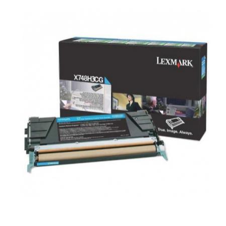 Картридж Lexmark Голубой картридж сверхвысокой ёмкости X748 compatible toner lexmark c930 c935 printer laser use for lexmark refill toner c940 c945 toner bulk toner powder for lexmark x940
