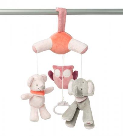 Мобиль-мини Nattou Adele Valentine Слоник и Мышка 424257 цены онлайн