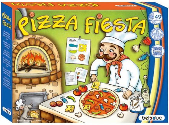 """Развивающая игра """"Пицца Фиеста"""" beleduc развивающая игра веселая ферма 2"""