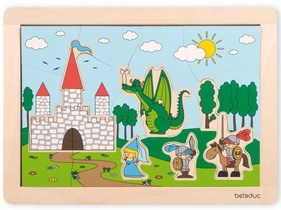 Развивающий Пазл Замок держатель туалетной бумаги grohe sinfonia 40053000