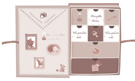 Коробка для сокровищ Nattou Max, Noa Tom Собачка, Лошадка и Мишка 777681