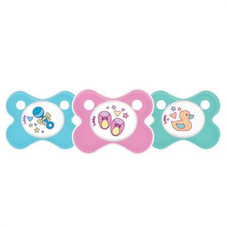 Соска-Пустышка Кнопочка, от 0 мес., силикон,симметричный сосок lubby пустышка силиконовая кнопочка от 0 месяцев цвет голубой
