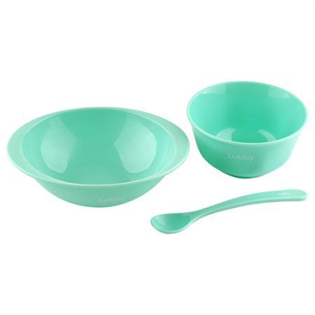 Тарелка Lubby Для первого прикорма 1 шт от 4 месяцев зеленый 20150