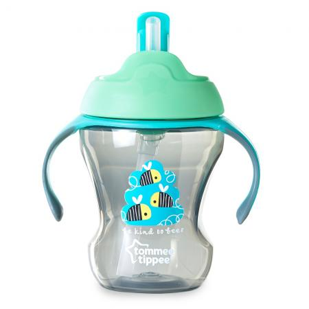 Чашка-непроливайка с трубочкой, 230 мл. от 7 мес. чашка детская sistema с трубочкой цвет фиолетовый 250 мл