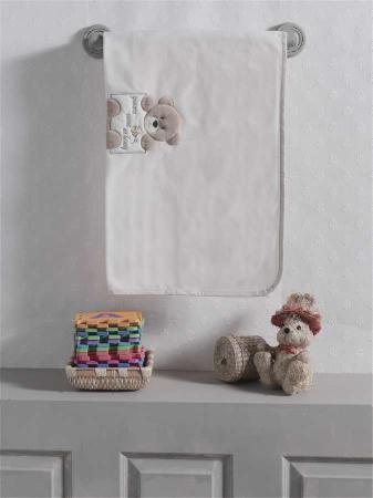Плед флисовый Honey Bear Linen, 100% полиэстер, размер 80*120 см kidboo kidboo халат honey bear linen махровый бежевый