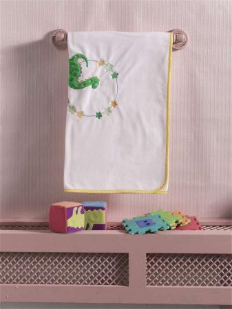 """Плед флисовый """"Baby Dinos"""", 100% полиэстер, размер 80*120 см dancing dinos"""