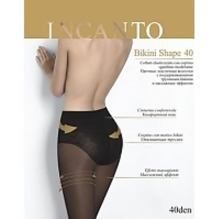 Incanto Колготки Bikini Shape 40 Nero, 4 ishine 2017 v shape sexy brazilian bikini bottom women swimwear swimsuit trunk tanga micro briefs panties pnderwear thong bikini