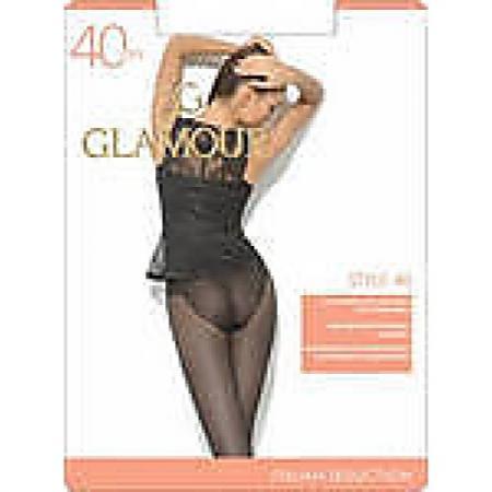 Glamour Колготки Style 40 Nero, 3 журнал glamour style book