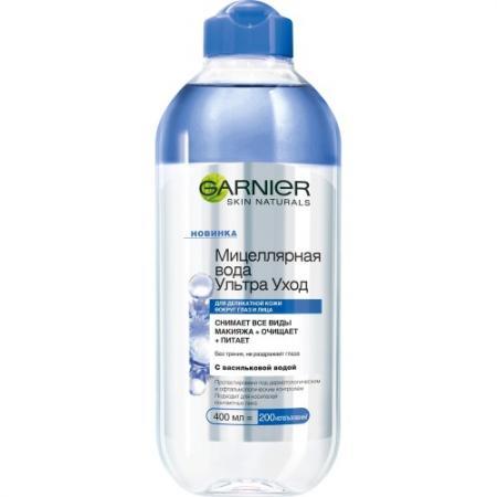 GARNIER Мицеллярная вода Ультра Уход 400мл цена и фото