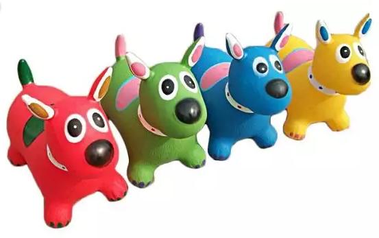 Купить Игрушка-скакалка собака Наша Игрушка Собачка-попрыгунчик в ассортименте, Мягкие игрушки