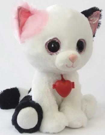 Мягкая игрушка Глазастик Кот