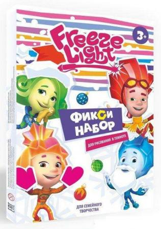 Набор для творчества Freeze light Фиксики от 3 лет наклейка декоративная freeze light кошка fl ндкош 18