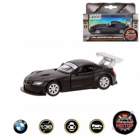 Автомобиль Пламенный мотор BMW Z4 GT3 1:38 черный 870297 galaxy 50180 bmw z4