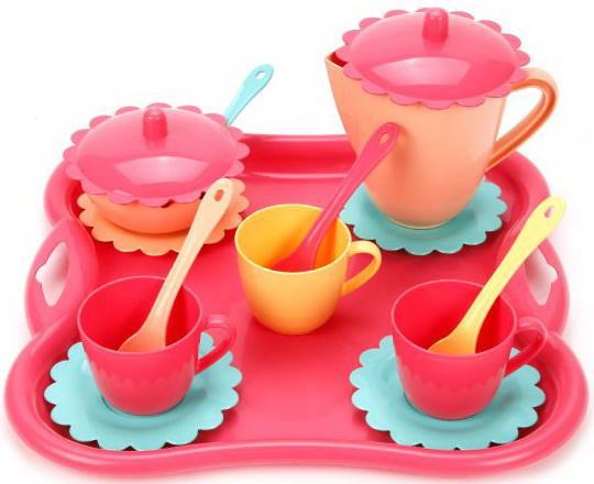 Чайный набор Mary Poppins Карамель 16 предметов чайный набор mary poppins бабочка  16 предметов 39318