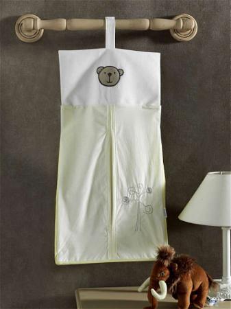 Прикроватная сумка серии LITTLE BEAR , 100% хлопок, размер 30*65