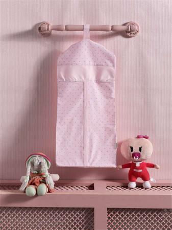 Прикроватная сумка серии Sweet Flowers, 100% хлопок, размер 30*65