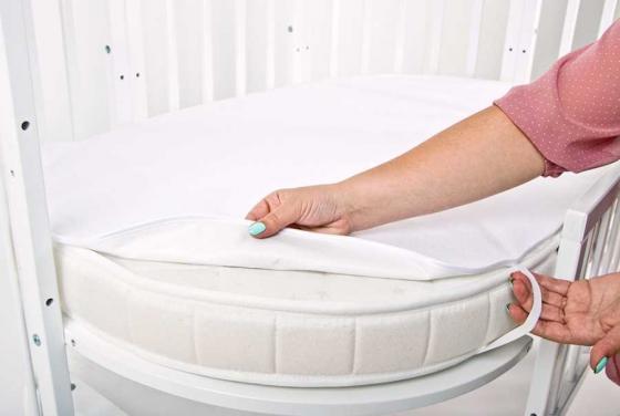 Фото - Комплект махровых непромакаемых пеленок (овал+круг) золотой гусь комплект зая зай 3 предмета розовый