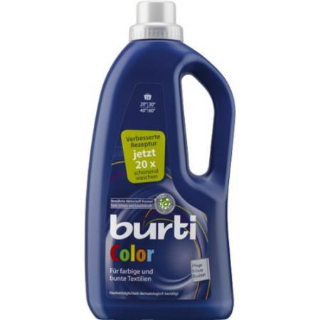 BURTI Color жидкое средство для стирки цветного белья 1.3 л