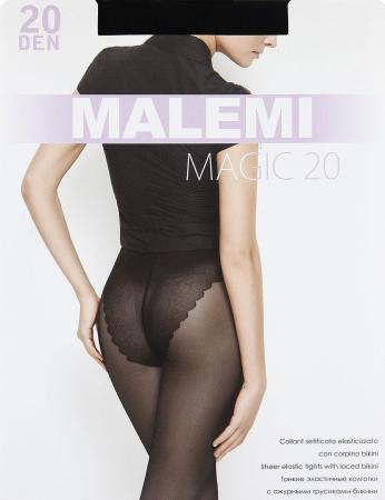 Колготки Malemi Magic 5 20 den черный колготки 20 den коньяк argentovivo колготки 20 den коньяк