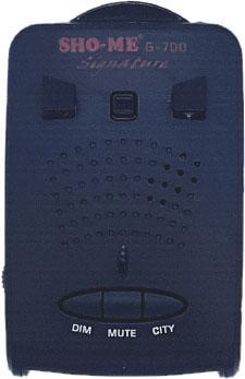 купить Радар-детектор Sho-Me G-700 Signature GPS приемник недорого