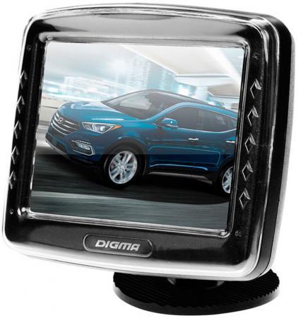 Автомобильный монитор Digma DCM-350 3.5 4:3 320x240 2.5Вт
